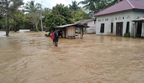 Foto Banjir di Calon Ibu Kota, 1 Jembatan Putus