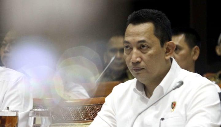 'Calon Kapolri Listyo Sigit Prabowo Ahli Bekerja dan Tak Suka Retorika'