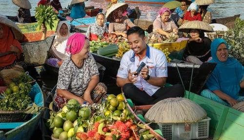 Foto Bikin Hati Tenang, Pemerintah Jamin Kredit Modal Kerja UMKM
