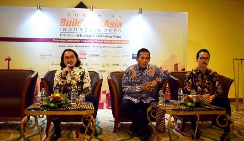 Foto Digelar di Indonesia, BuildTech Asia 2020 Pamerkan Teknologi Konstruksi