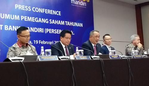 Foto Tok! Menkeu Era SBY Jabat Komut Bank Mandiri