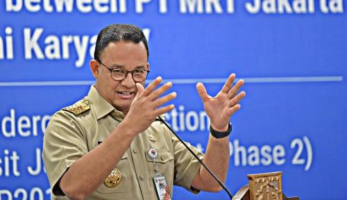 Foto Anies Ngotot Minta Lockdown Jakarta, Istana Gak Menjegal Kebijakan Gaberner?