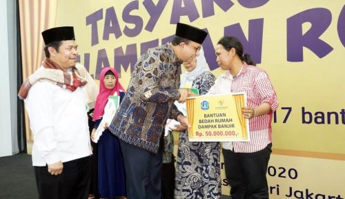 Foto Baznas DKI Jakarta Serahkan Kunci 402 Rumah Duafa