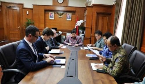Foto Temui Menteri Suharso, Dubes Prancis Tawarkan Kerja Sama Bangun IKN