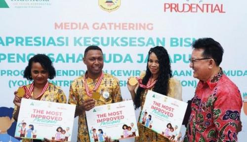 Foto Dibina Prudential, 33 Pengusaha Muda Papua Siap Jadi Super Papuanpreneurs