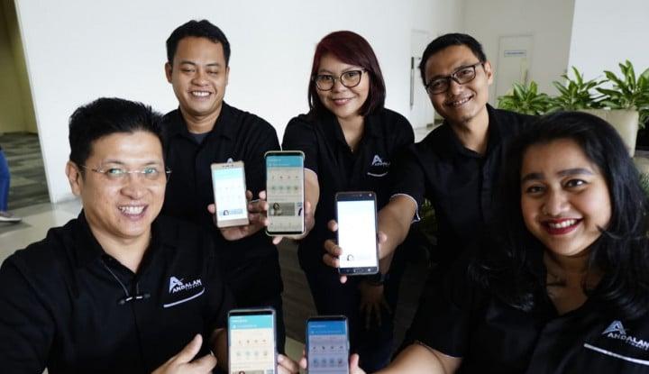 Aman dan Nyaman, Andalanku.id Cara Mudah Bertransaksi via Smartphone - Warta Ekonomi