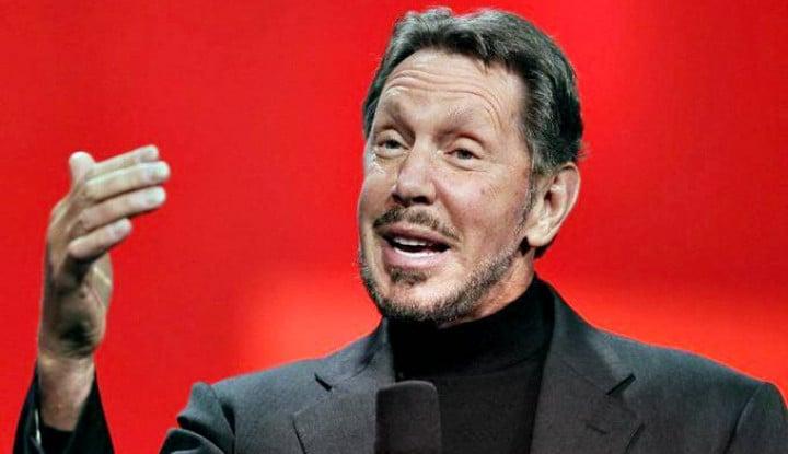 Foto Berita Bos Oracle Larry Ellison Gabung Klub Centibillionaire, Miliarder dengan Kekayaan 100 Miliar Dolar AS