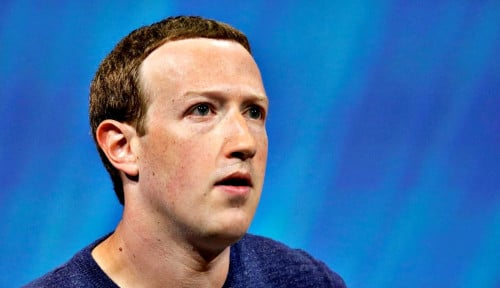 Foto HAH!! Kekayaan Mark Zuckerberg Turun Rp102 T, Apa Penyebabnya?