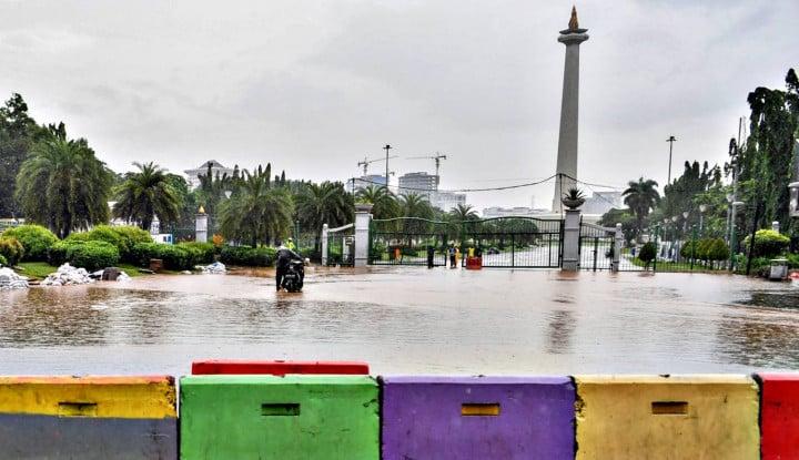 Dihajar Hujan 3 Jam, Ini Ruas Jalan Tol yang Tergenang Banjir