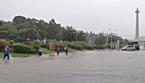 Foto Alasan Klasik, DKI Berdalih Lagi Banjir Gegara Hujan Ekstrem