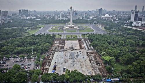 Foto Revitalisasi Monas Diduga Langgar Aturan, Ombusman Ajak Anies Bicara