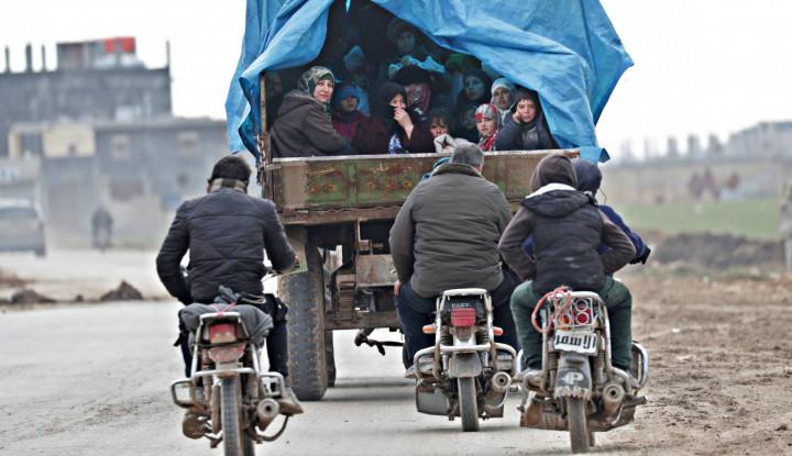 Turki Tangkis Serangan Rezim al-Assad yang Menyamar Jadi Warga Sipil