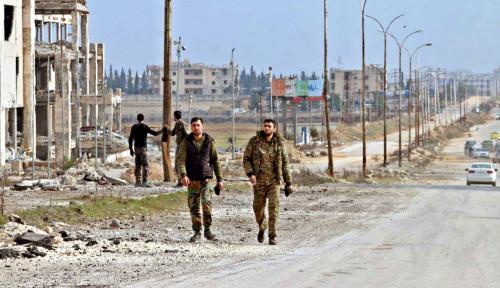 Foto Pasukan Oposisi Pimpinan Turki Luncurkan Operasi buat Ambil Alih Wilayah Suriah