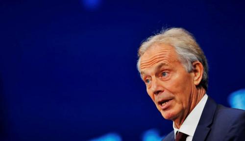 Foto Bahas Ibu Kota Baru, Tony Blair & Bos Softbank Temui Jokowi Pekan Depan
