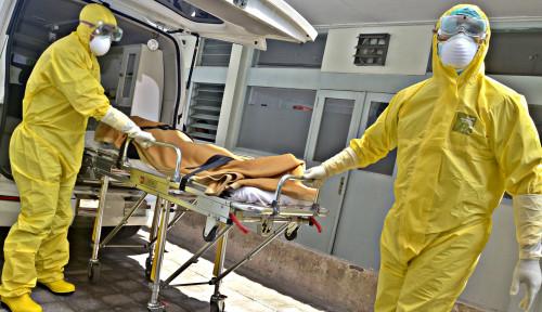 Foto Melihat ke Dalam Koridor Rumah Sakit di Iran yang Dipenuhi Jasad Korban