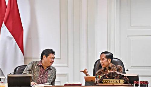 Foto Airlangga Pastikan Golkar Dukung Anak-Mantu Jokowi di Pilkada 2020