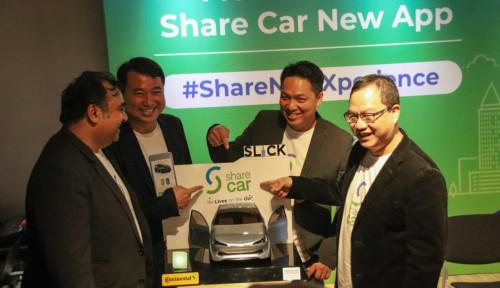 Layanan Rental Mobil Tanpa Kunci Share Car Pamer Fitur Baru di Aplikasinya
