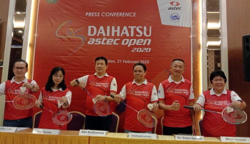 Foto Tahun Ini Daihatsu Astec Open 2020 Sambangi Medan