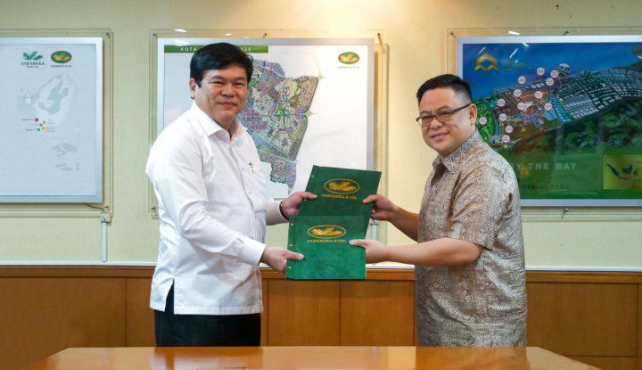 Jababeka Morotai-TransNusa Teken MoU Kerja Sama Rute Penerbangan - Warta Ekonomi