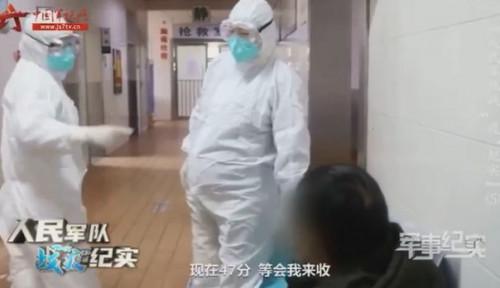 Foto Netizen China Kritik Rumah Sakit Wuhan yang Pekerjakan Perawat Hamil Tua