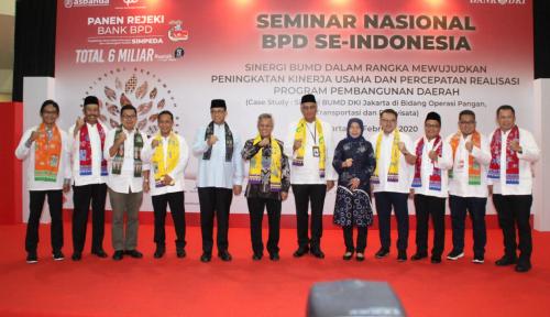 Foto Bank DKI Sebut Nilai Transaksi BUMD Capai Rp3 Triliun