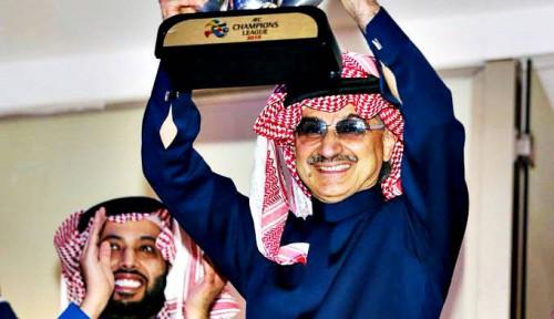 Foto Profil Alwaleed bin Talal, Orang Terkaya Arab Saudi yang Jago Investasi