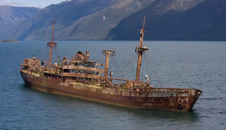 hilang di segitiga bermuda sejak 1925, kapal hantu ditemukan di dekat as