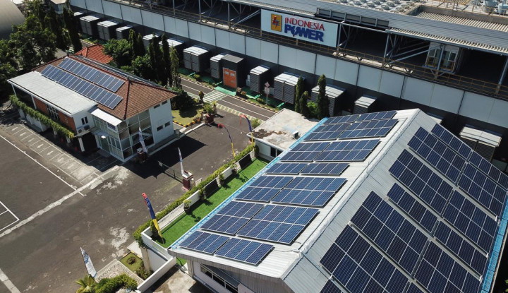 Indonesia Power Resmikan PLTS Atap di Perkantoran Bali Power Generation Unit - Warta Ekonomi