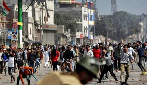 Foto 7 Orang Tewas, 150 Luka-Luka dalam Kerusuhan di New Delhi