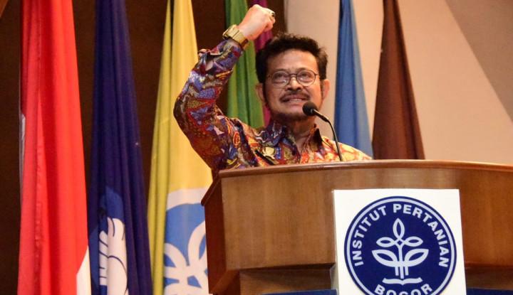 Mentan Ajak Forum Rektor Gelorakan Kedaulatan Pangan - Warta Ekonomi
