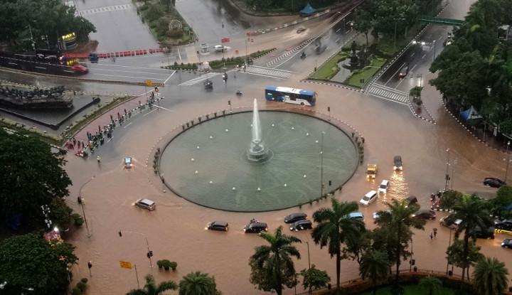 Jakarta Banjir Berjilid-Jilid, Demokrat Tagih Janji Presiden Jokowi... - Warta Ekonomi
