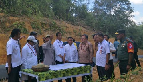 Foto Jokowi: RUU Ibu Kota Negara Diserahkan ke DPR Pekan Ini
