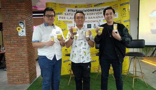 Foto Kopi Yor Campur Indomilk Banana, Jadinya Banana Series