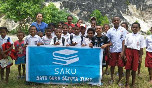 Foto Komunitas Baca Saku, Komitmen Kirim Buku ke Pelosok Negeri