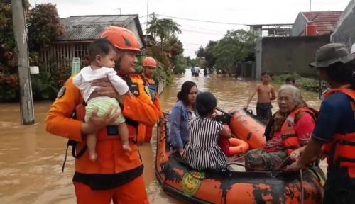 Foto Duh! 11 Kecamatan di Subang Terendam Banjir