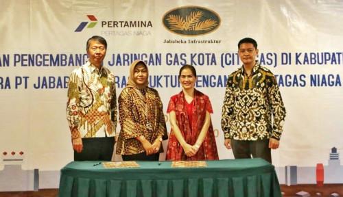 Foto Jababeka–PTGN Sepakati Kerja Sama Pengembangan Jaringan Gas Kota