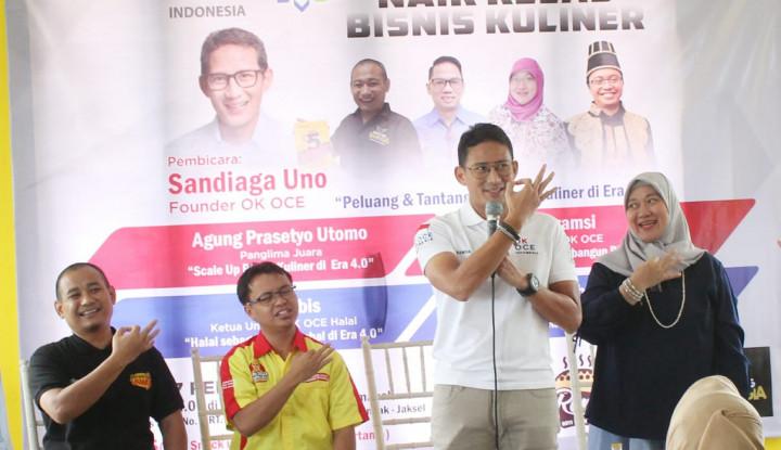 Kunjungi Kerajaan Kesotoan Nusantara, Sandiaga Tularkan Semangat Entreprenurship - Warta Ekonomi