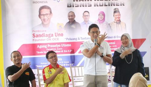 Foto Kunjungi Kerajaan Kesotoan Nusantara, Sandiaga Tularkan Semangat Entreprenurship