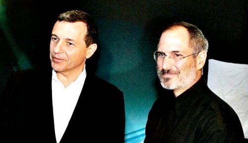 Foto Lebih dari Teman, Begini Keakraban Bob Iger dengan Bos Apple Steve Jobs