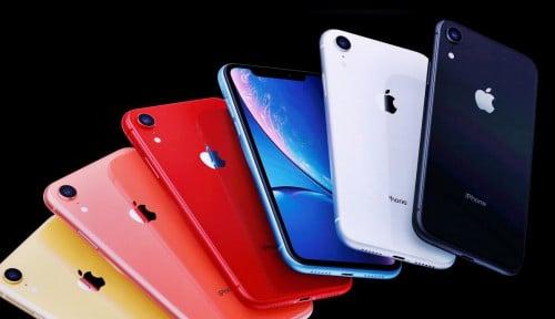 Foto Mantap! iPhone XR Jadi Ponsel Terlaris Sepanjang 2019