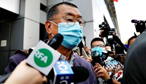 Taipan Media Hong Kong Ditahan dengan UU Baru karena...
