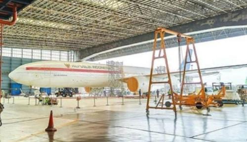 Foto Oh, Jadi Foto Pesawat Kepresidenan yang Viral untuk Jokowi ke AS Nyewa, Kenapa?