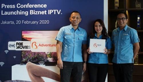 Foto Biznet Luncurkan Biznet IPTV, Hiburan TV Interaktif dengan Resolusi 4K