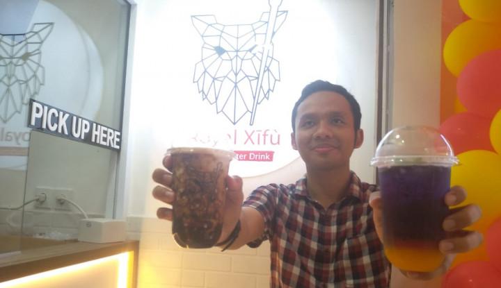 bisnis minuman kekinian masih menjanjikan, royal xifu buka outlet ketiga