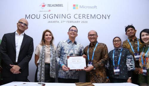 Microsoft-Telkomsel Gandengan Terapkan Teknologi Terbaru ke Daerah Pelosok
