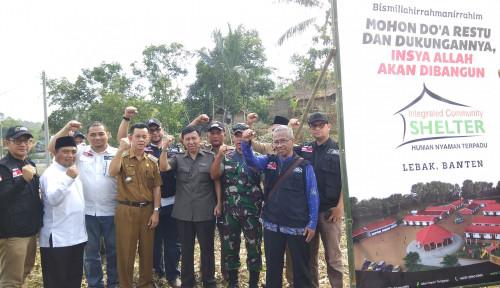 Foto Hadir di Lebak, ACT Salurkan Bantuan Pangan Korban Banjir Longsor dan Bangun Hunian Sementara