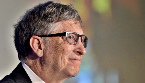 Foto Bill Gates Danai Pembangunan Pabrik Vaksin Virus Corona