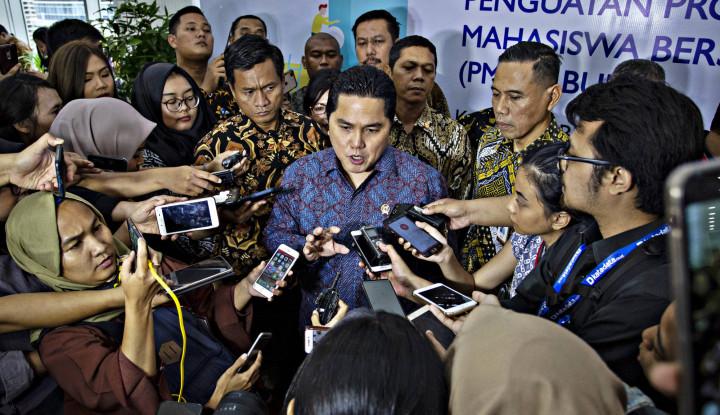 Menteri Erick Instruksikan Penerapan Jaga Jarak di Berbagai Fasilitas Publik Milik BUMN - Warta Ekonomi