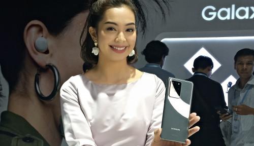 Cekidot! Samsung Rilis Galaxy S20 Series dan Z Flip di Indonesia