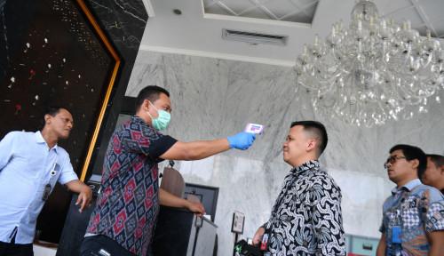 Foto Alhamdulillah, Hasil Tes Anggota DPRD DKI Negatif Corona